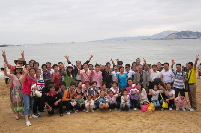 Liangshi staff go for three-days tourist in the National Day to Xiamen.