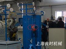 Zinc sprayer for thermal power air-cooled microchannel aluminum flat tube