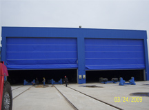 Wind power equipment sandblasting, zinc spraying / painting booth