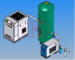 Compressor / rear cooler / Pressure Vessels