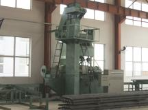 Elevator guide rail Shot blasting oiled production line