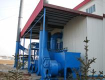 Ningxia KOCEL Group wind power hub sandblasting room zinc spray paint room project
