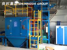 Developed a high-speed  rail track components automatic sandblasting machine for an Institute in Shanghai